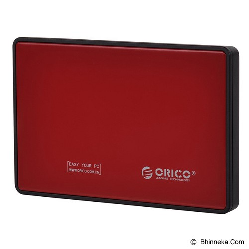 ORICO 2.5 inch HDD/SSD Mobile Enclosure USB 3.0 [2588US3-RED] - Red - Hdd External Case